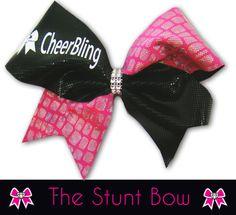 CheerBling Stunt Cheer Bow