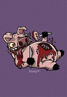 Cannibalistic Piggy by cronobreaker on deviantART