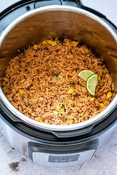 Say hello to the best Instant Pot Mexican Rice ever. This Instant Pot Spanish rice recipe is SO good and makes the best Mexican side dish recipe! Rice Instant Pot Recipe, Instant Pot Dinner Recipes, Side Dish Recipes, Mexican Side Dishes, Mexican Rice Recipes, Multi Cooker Recipes, Pressure Cooker Recipes, Pressure Cooking, Instant Pot Multi Cooker