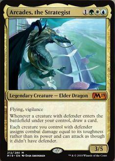 ***4x Aggressive Mammoth*** MINT Magic 2019 M19 Mythic MTG Magic Cards