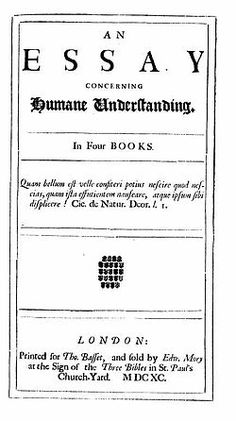 john locke press princeton edu titles html writers  an essay concerning human understanding is a work by john locke about the foundation of human