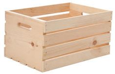 Large Wood Crate
