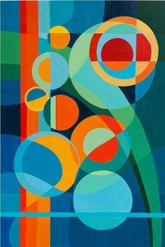 Elements Of Art Point Art History - - Triangle Art, Circle Art, Elements Of Art Space, Construction Paper Art, Value In Art, Cubism Art, Art Worksheets, Kunst Poster, Geometry Art