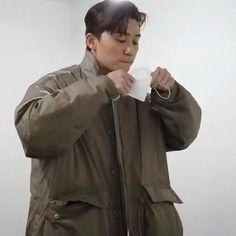 Park Seo Jun, Seo Joon, Rain Jacket, Windbreaker, Raincoat, Korean, Actors, Korean Language