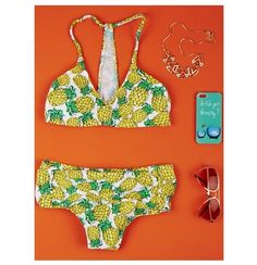 Pineapple bathing suit from Delia's