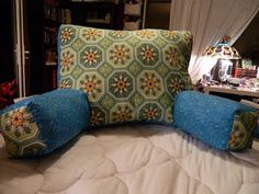 Back rest pillow tutorial - worth a try