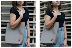 Női  bőr válltáska Leather shoulder bag #bőrválltáska #leatherbag #leathershoulderbag #shopperbag #bbag #bőrtáska Bago, Leather Bags, Sling Backpack, Backpacks, Shoulder Bag, Fashion, Leather Tote Handbags, Moda