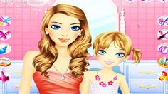 Mommy and Me in Beautiful Makeover Game - For Little Girls (+playlist)