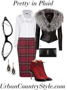 Plaid is the New Black - UrbanCountryStyle.com