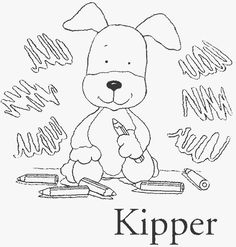sprout character coloring pages | kipper the dog colouring pages (page 2) | birthday party ...