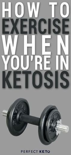 Do you know how to #exercise when you're in ketosis? There are certain ways you should #train when you follow a keto diet. Here's what you should be doing. #keto #KetoLifestyle #WeightLoss #FatLoss #Health #Healthy #HealthyLiving #HealthyLifestyle #swole