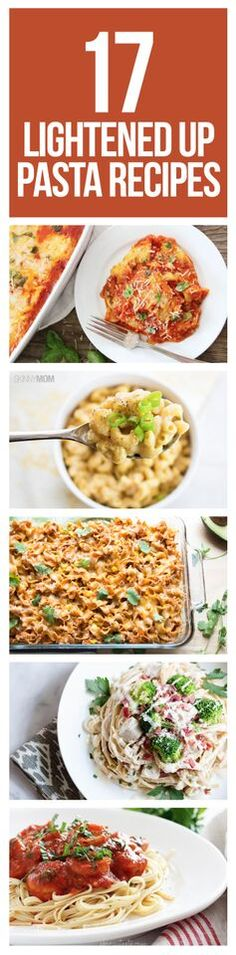Our favorite skinny pasta dishes that still taste amazing!