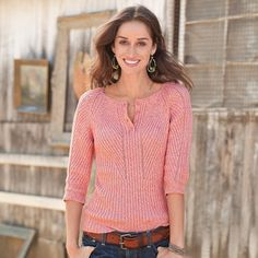 Directional Henley Sweater in Winter 2013 from Sundance on shop.CatalogSpree.com, my personal digital mall.