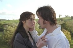 Lizzie and Mr. Darcy. :)