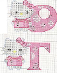 hello kitty alphabet cross stitch