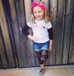 Missfit Tee for the fashion forward sassy tot!