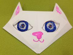 Origami Cat Tutorial #DIY #Arts #Crafts