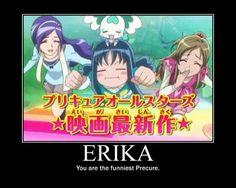 #KurumiErika #CureMarine #Marine #Erika #HeartcatchPrecure #Heartcatch #Precure Ella es la mejor, yo lo sé y todos lo sabemos <3