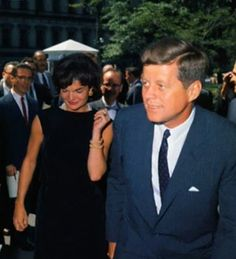 HER MAJESTY JACQUELINE KENNEDY THE FIRST — Mr. and Mrs. Kennedy