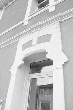 Cornici per esterni cornici per finestre facciate decorate marcapiano cornici da esterno - Cornici finestre in polistirolo ...