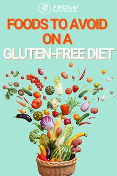 Here's a full a list of foods to avoid on a gluten-free diet. Get a copy of sample gluten-free meal plan here! Reduce bloating and lose weight easily! Gluten Free Meal Plan, Free Meal Plans, Gluten Free Diet, Gluten Free Recipes, Reduce Bloating, Reduce Inflammation, Best Anti Inflammatory Foods, Foods To Avoid, Sports Nutrition
