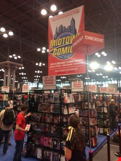 We've made it to the BIGGEST DAY of the con! Stop by booth #2336 & check out our Midtown Exclusives + get 20% OFF graphic novels! #NYCC
