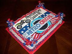 Nitro Circus cake