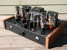 Siegmund ST-230 Hifi Stereo Tube Amplifier | KT66 Ultra-Linear Power Amp