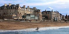 Façade - Le Grand Hôtel des Thermes - 5 étoiles - Saint-Malo #bretagne #france #brittany #plage #beach #hotel