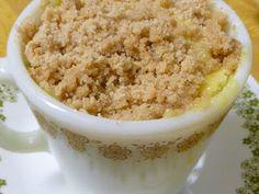 coffee cake in a mug recipe test