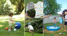 15 idées de jeux à faire avec des cerceaux Hula Hoop!