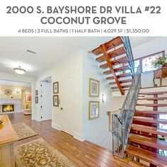 I am happy to have represented buyer and seller in new sale of beautiful L'Hermitage Villa located at 2000 S. Bayshore Drive #22, Coconut Grove.    4 BEDS | 3 FULL BATHS | 1 HALF BATH | 4,029 SF | $1,350,000  https://youtu.be/a9e6K4borjU