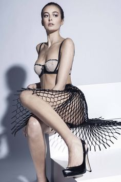 Designer Betsan Evans, Contour Fashion BA (Hons)