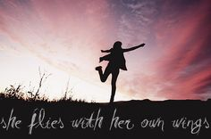 She Flies With Her Own Wings #smgirlfriends
