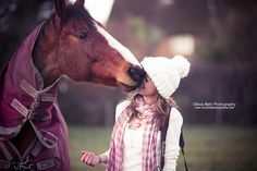 Can I have a horse kiss? - Day 163/365 (explore) by Olivia Bell, via Flickr