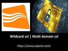 Best information about wildcard ssl @ https://www.sslpoint.com/