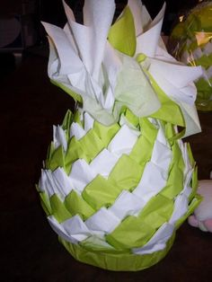 de serviette en papier en forme ananas distributeur de serviette en