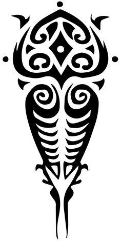 Raava / Vaatu Tattoo Vector by eduardowar