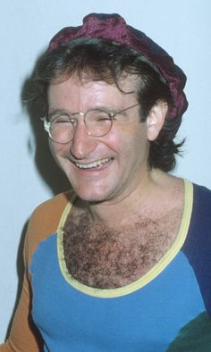 Actor Robin Williams attends the 'VIP Night on Broadway' Benefit Performance for NYC Police Department on April 22 1979 at the Shubert Theatre in New York. photo by Ron Galella