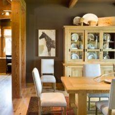 dining room by Alan Mascord Design Associates Inc