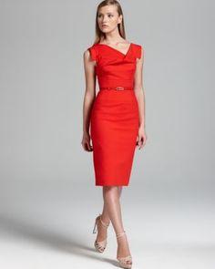 Sharp! Love! Black Halo Dress - Jackie O  Bloomingdale's