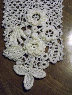 Free Crochet Pattern Irish Lace Scarf : 1000+ images about irish crochet patterns on Pinterest ...