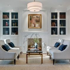 Living Rooms With 4 Big Chairs Design, Pictures, Remodel, Decor and Ideas - page 2