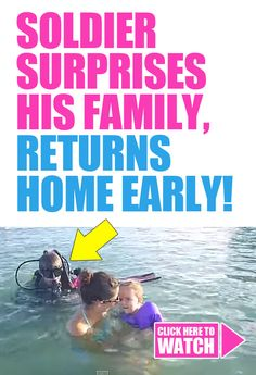 Soldier Surprises His Family, Returns Home Early! Soldier Surprises, How I Feel, Feel Good, Military Homecoming, Mums The Word, Military Love, Faith In Humanity Restored, Happy Tears, Just Smile