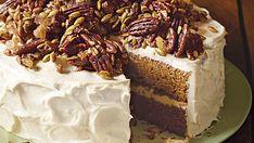 Brown Butter Pumpkin Layer Cake - FineCooking