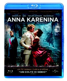 Anna Karenina, il film di Joe Wright interpretato da Keira Knightley, in edizione Blu-Ray