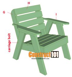 Lawn Chair Plans is part of Lawn chairs - Lawn chair plans and matching side table, includes illustrations, measurements, shopping list, and cutting list Easy DIY weekend project Adirondack Chair Plans, Outdoor Furniture Plans, Lawn Furniture, Children Furniture, Furniture Cleaning, Funky Furniture, Plywood Furniture, Furniture Design, Wooden Lawn Chairs