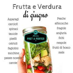 La frutta e la verdura di giugno: come diciamo sempre il primo step per una alimentazione sana e naturale inizia dalla scelta di vegetali di stagione