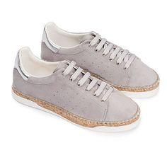 Canal St Martin chaussures pour femmes. Basket espadrille modèle Lancry.