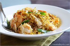 Chow Mein (Chinese Noodles) Recipe: is also a favorite Chinese take-out item. Some shredded vegetables, some protein–either chicken, pork, beef, seafood, or combination–and you will have a perfect chow mein that is cheap, filling, and sinfully gratifying. #noodle #takeout